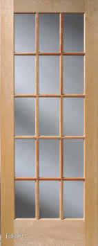 15 light french door birch 15 lite french interior doors homestead doors