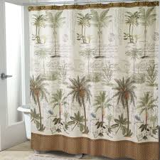 Palm Tree Bathroom Rugs by Bath Shower Curtains And Shower Curtain Hooks Touch Of Class