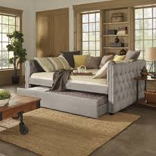 daybed images knightsbridge full size tufted nailhead chesterfield daybed and