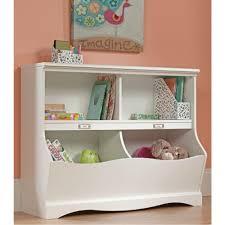 kids white bookcase sauder pogo soft white twin kids footboard 414436 the home depot