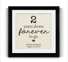 2nd wedding anniversary gift ideas for gift for 2nd wedding anniversary wedding gifts