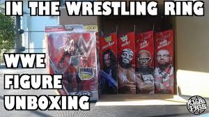 wrestling ring wwe figure 5 elites unboxing finn balor dudleys
