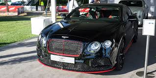 black bentley 2016 bentley announces limited edition continental gt black speed