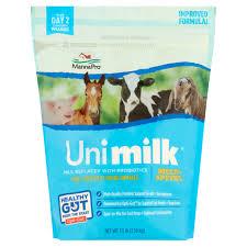 tractor supply wedding registry manna pro unimilk multi species milk replacer with probiotics 3 5