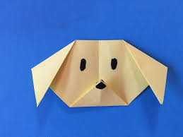 how to make origami dog fold a paper dog paper folding project for