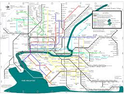 Miami Train Map by Metro Transit Maps