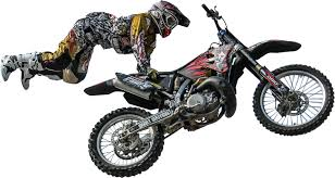 dirt bikes motocross clipped