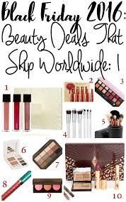 best makeup black friday deals 2016 cult beauty black friday beauty deals discounts ships worldwide