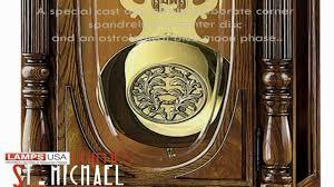 Howard Miller Grandfather Clock Value Howard Miller Clayton Floor Grandfather Clock 610950 Youtube