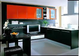 bank für küche l form küche mit tv bank in rot und schwarz lackiert