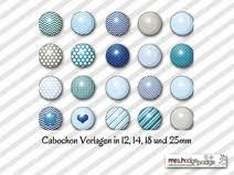 Cabochon Vorlagen Blau Cabochon Vorlage 1648 Individuelle Produkte Aus Der Kategorie