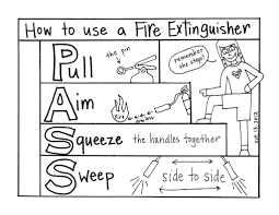 fire extinguisher coloring page funycoloring