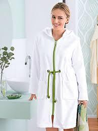 robe de chambre eponge femme hahn femme peignoirs de bain peterhahn fr