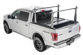 Ford Raptor Truck Bed - 2010 2014 ford f 150 raptor hard folding tonneau cover rack combo