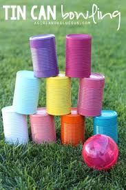 5 fun things to do with tin cans bowling upcycle and plays