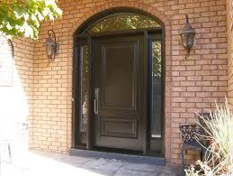Fiberglass Exterior Doors With Sidelights Exterior Wood Doors Fiberglass Lowes Entry Door With Single