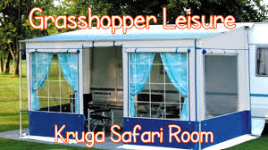 Fiamma Awnings For Motorhomes Kruga Safari Room Universal Motorhome Awning Youtube