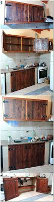 the ideas kitchen best 25 pallet cabinet ideas on kitchen cabinets in