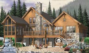 chalet style house plans plan of the week remarkable chalet drummond house plans