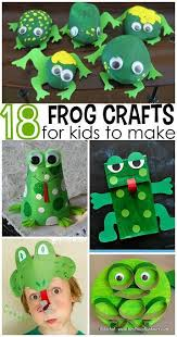 Pinterest Crafts For Kids To Make - cute frog crafts for kids to create fun for summer time http