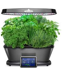 smart countertop aerogarden bounty elite 9 pod smart countertop garden electrics