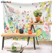 online get cheap floral tapestry fabric aliexpress com alibaba