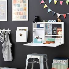 White Kids Desk With Hutch by Star Kids Wall Writing Desk In White Kids Desks Drawers Wardrobes