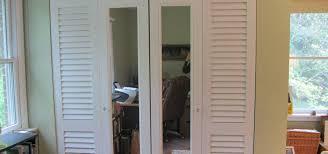 Louvered Doors Interior Mirrored Bifold Closet Doors Steveb Interior Metal Bifold Louvered