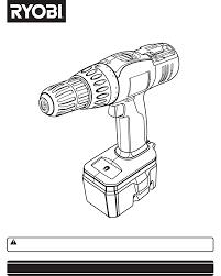 Ryobi Table Saw Manual Ryobi Drill P206 User Guide Manualsonline Com