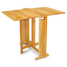 catskill craftsmen natural hardwood butcher block folding table