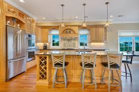 natural stained wood kitchen toms river new jersey by design line