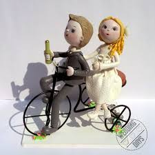 bicycle cake topper bicycle wedding cake topper handmade original and exclusive