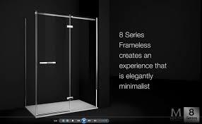 Merlin Shower Doors 8 Series Frameless Range Merlyn Showering
