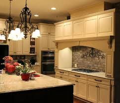 Brown Subway Tile Backsplash by Jeffrey Alexander Hardware Kitchen Traditional With Brown Subway