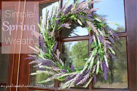 spring wreaths for front door simple diy spring wreath 2013 megan brooke handmade