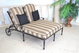 Chaise Lounge Cushion Slipcovers Living Room Stylish Outdoor Double Chaise Lounger