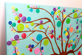 diy button tree wall smart and savvy