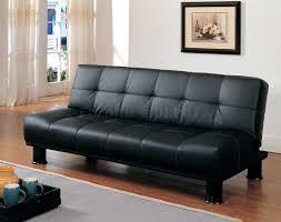convertible sofa black leather convertible sofa
