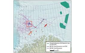Barents Sea Map Geo Expro Towed Streamer Em For Success