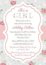 vintage baby shower invitations vintage baby shower invitations girl cimvitation