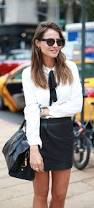 White Blouse With Black Bow 25 Ways To Wear A Blouse 2017 Fashiontasty Com