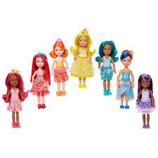 barbie rainbow cove 7 doll gift set walmart com