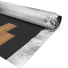 Damp Proof Underlay For Laminate Flooring Wood Plus 3mm Combi Silver Vapour Flooring Underlay Leader Floors