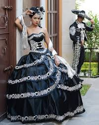 black and white quinceanera dresses black and white quinceanera dresses vestido charro en color negro