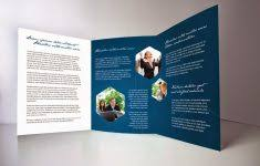 a4 tri fold brochure template free download csoforum info