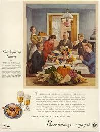 thanksgivings dinner beer in ads 2354 thanksgiving dinner brookston beer bulletin