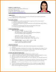 interesting sample resume letter philippines with additional