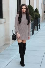 waterfall camel coat over the knee boots