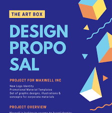 make an impressive project or business proposal with canva