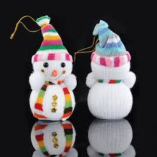 decoration snowman ornaments for festival